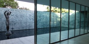Barcelona House, Ludwig Mies van der Rohe, Barcelona, Spain